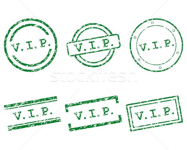 Stock photo: Vip stamps