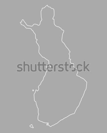 Pokaż Finlandia tle odizolowany ilustracja Zdjęcia stock © rbiedermann