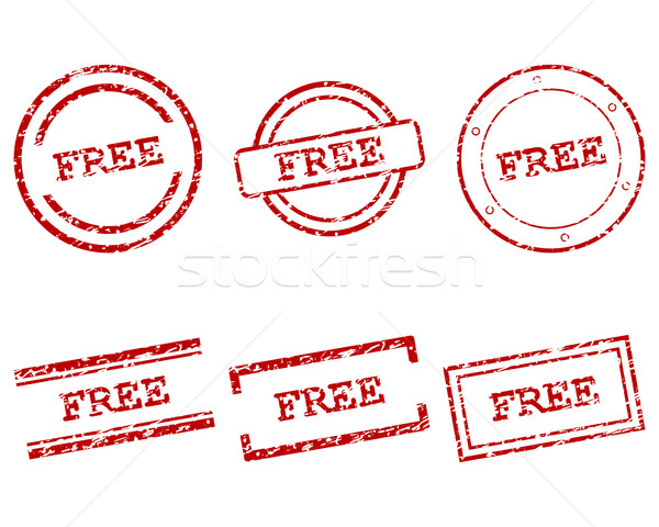 Free stamps Stock photo © rbiedermann