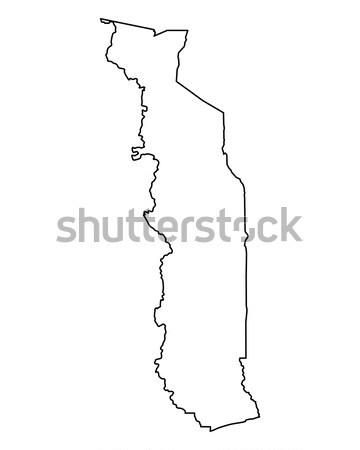 Térkép Argentína háttér izolált illusztráció Stock fotó © rbiedermann