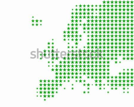 карта Мэриленд зеленый шаблон круга США Сток-фото © rbiedermann