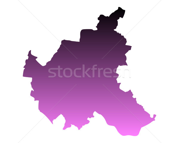 Mappa amburgo sfondo line vettore Germania Foto d'archivio © rbiedermann