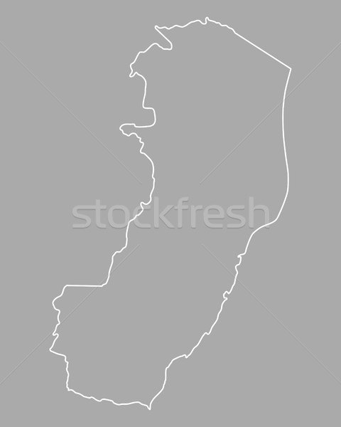 Map of Espirito Santo Stock photo © rbiedermann
