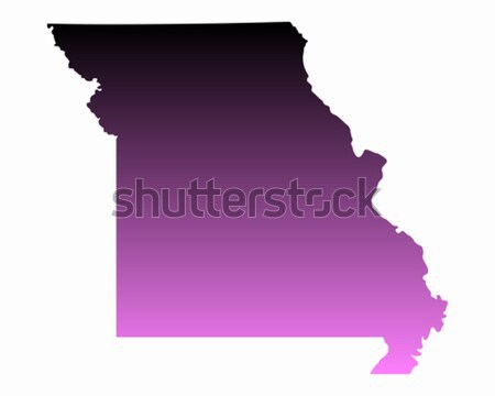 Map of Missouri Stock photo © rbiedermann