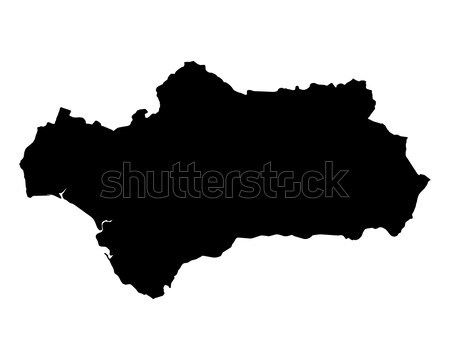 Map of Styria Stock photo © rbiedermann