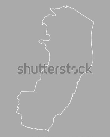 Harita vektör yalıtılmış örnek gri gri Stok fotoğraf © rbiedermann