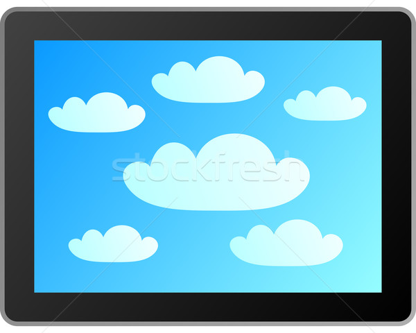 Cloud computing Stock photo © rbiedermann