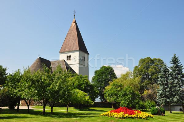 Church in Freiland, Styria, Austria Stock photo © rbiedermann