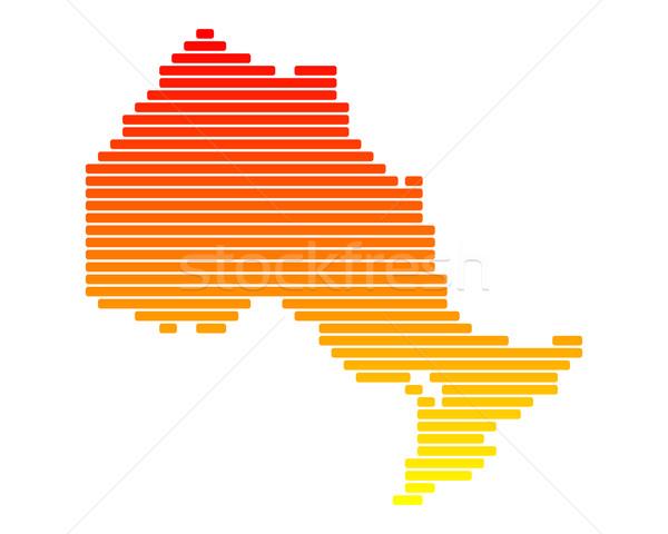 Stock photo: Map of Ontario
