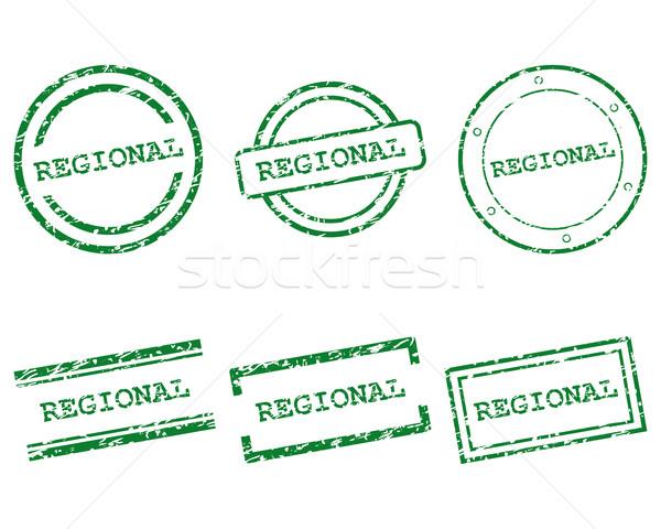 Regional stamps Stock photo © rbiedermann