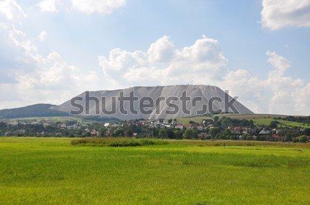 Burden dump Monte Kali near Heringen, Germany Stock photo © rbiedermann