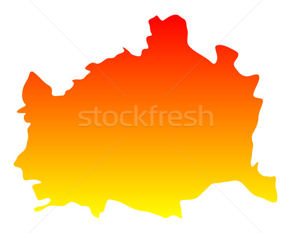 Map of Vienna Stock photo © rbiedermann
