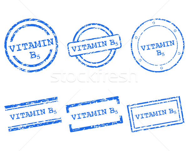Stockfoto: Vitamine · postzegels · gezondheid · brief · stempel · grafische