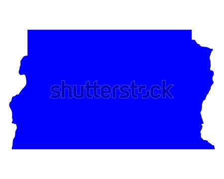 Map of Distrito Federal do Brasil Stock photo © rbiedermann