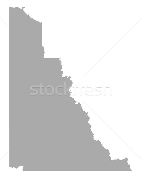 Map of Yukon Stock photo © rbiedermann