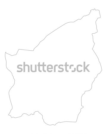 Map of South Africa Stock photo © rbiedermann