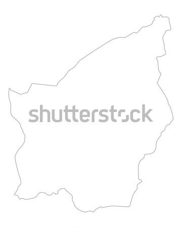 Harita Güney Afrika arka plan Afrika yalıtılmış örnek Stok fotoğraf © rbiedermann