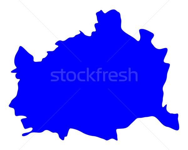 карта Вена фон линия вектора Сток-фото © rbiedermann