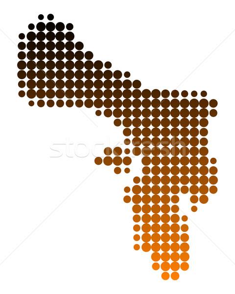 Map of Bonaire Stock photo © rbiedermann