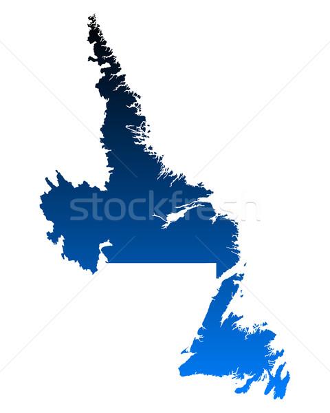 Pokaż nowa fundlandia labrador niebieski wektora Kanada Zdjęcia stock © rbiedermann