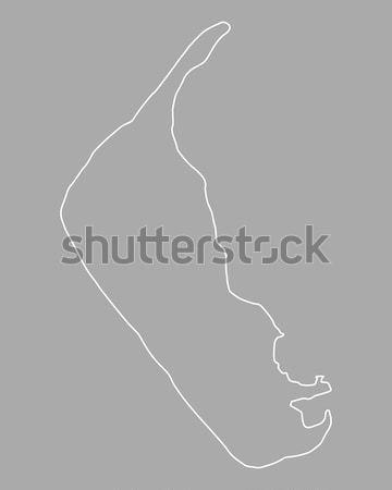 карта озеро Малави фон Сток-фото © rbiedermann