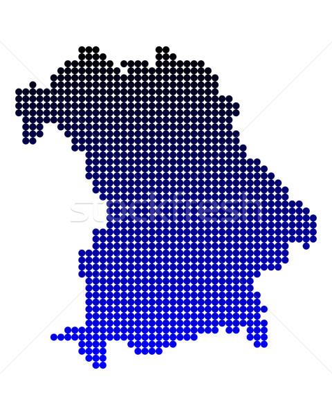 ストックフォト: 地図 · 旅行 · ヨーロッパ · 国 · ポイント · ベクトル