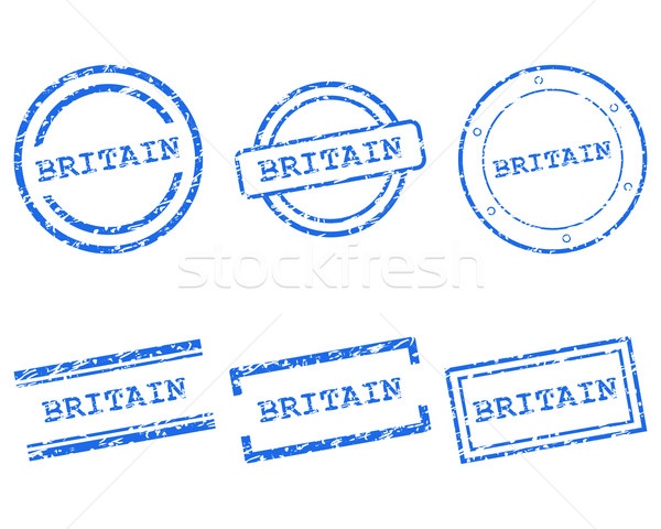 Britain stamps Stock photo © rbiedermann