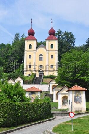 Avusturya Bina şehir kilise mimari Avrupa Stok fotoğraf © rbiedermann