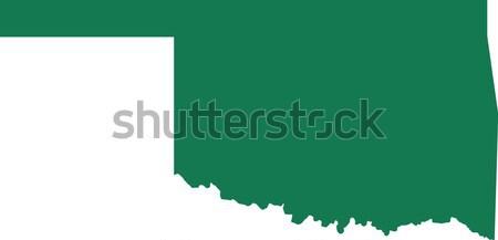 Harita Alabama yeşil seyahat Amerika ABD Stok fotoğraf © rbiedermann