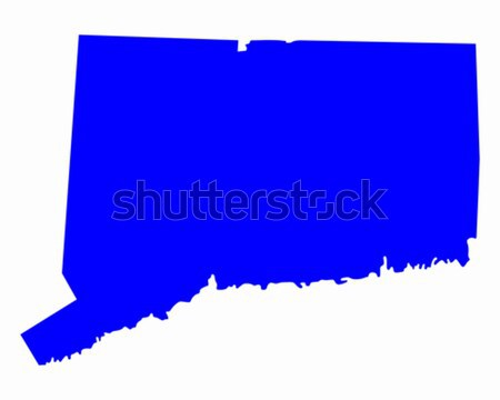 Map of Connecticut Stock photo © rbiedermann