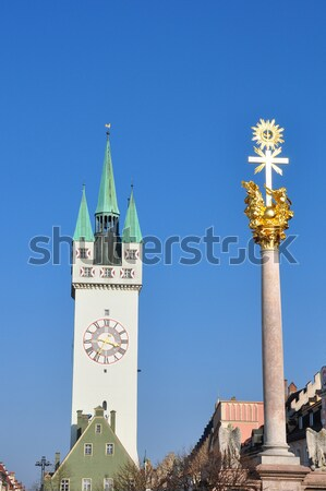 Tower in Straubing, Bavaria Stock photo © rbiedermann