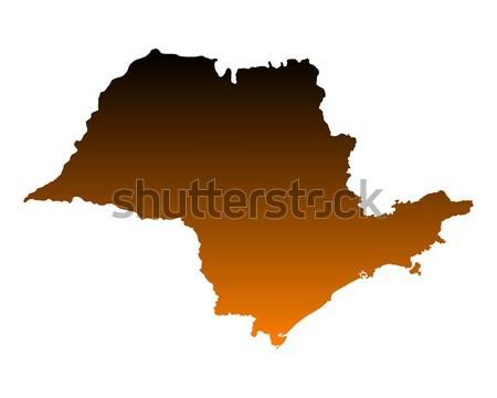 карта снизить Австрия вектора изолированный иллюстрация Сток-фото © rbiedermann
