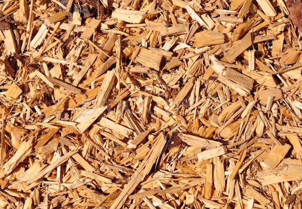 древесины чипов текстуры огня природы отопления Сток-фото © rbiedermann