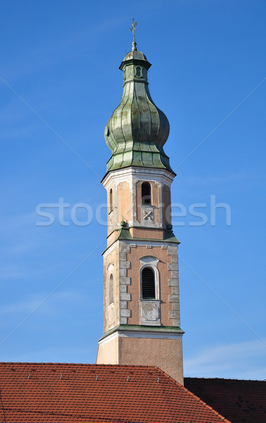 Dreifaltigkeitskirche in Straubing, Bavaria Stock photo © rbiedermann