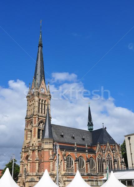 Church Saint Petri in Chemnitz, Germany Stock photo © rbiedermann