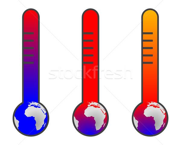 気候変動 地球温暖化 地球 青 将来 惑星 ストックフォト © rbiedermann