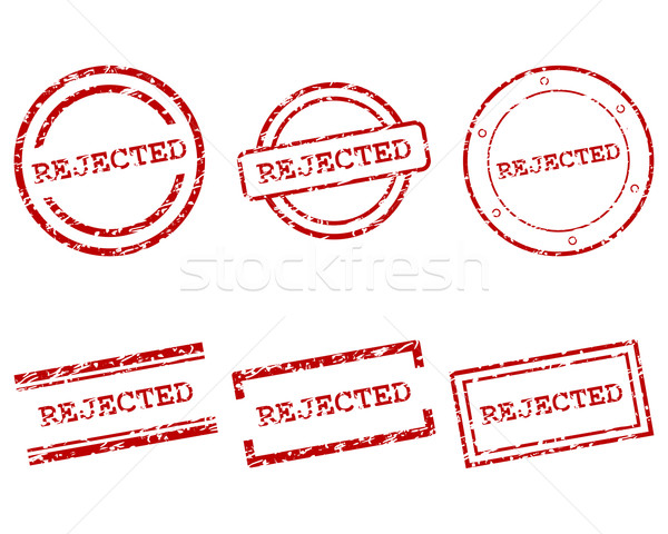 Rejected stamps Stock photo © rbiedermann