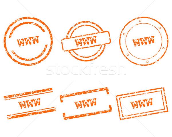 Www postzegels gezondheid stempel grafische verkoop Stockfoto © rbiedermann