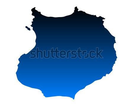 Map of Boa Vista Stock photo © rbiedermann
