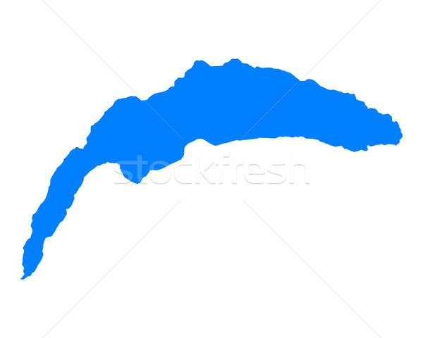 Map of Lake Geneva Stock photo © rbiedermann