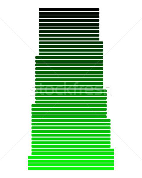 Pokaż saskatchewan zielone line linie punkt Zdjęcia stock © rbiedermann