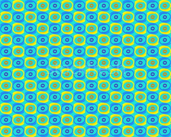 Stock photo: Seamless retro pattern