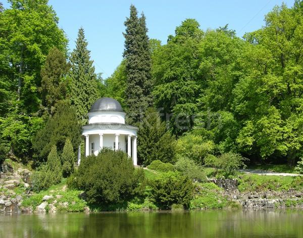Antigua magnífico parque paisaje cielo naturaleza Foto stock © rbiedermann