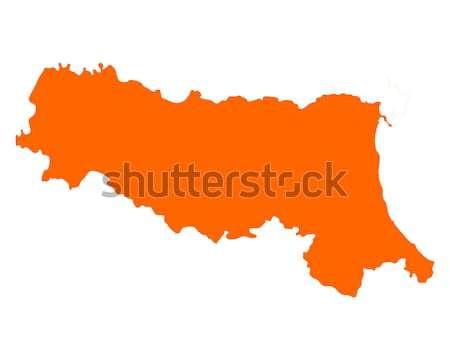 地図 ブルガリア 旅行 ベクトル ストックフォト © rbiedermann