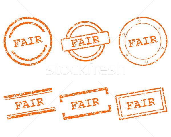 ストックフォト: 公正 · スタンプ · ビジネス · スタンプ · グラフィック · 販売