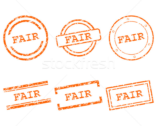 Fiera francobolli business timbro grafica vendita Foto d'archivio © rbiedermann