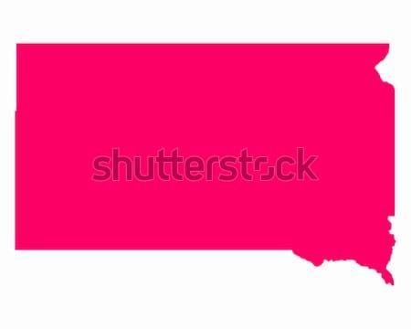Pokaż Tennessee podróży Ameryki fioletowy odizolowany Zdjęcia stock © rbiedermann