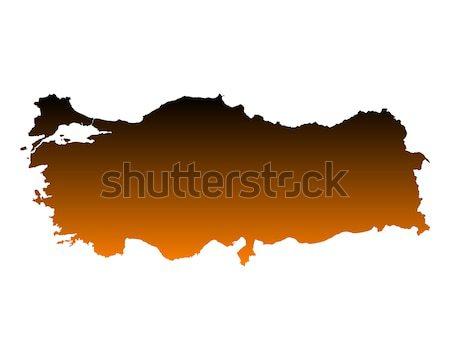 Kaart Letland achtergrond lijn vector Stockfoto © rbiedermann