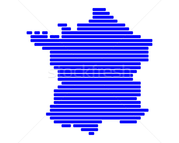 Map of France Stock photo © rbiedermann