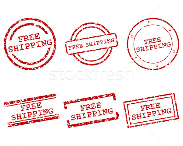 Free shipping stamps Stock photo © rbiedermann